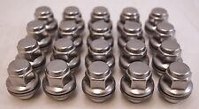 20 New Lexus IS350 RX330 RX350 Factory OEM Polished Stainless Lug Nuts Lugs