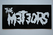 Meteors Sticker Decal (426) Rockabilly Psychobilly Mad Sin Reverend Horton Heat