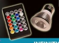 LED Color Changing Light Bulb with Remote! Great for Infinity and Puzzle Lamps