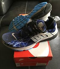 Nike Air Presto Lightning QS Trainers Medium UK Size 9-10 Black Grey Blue BNIB