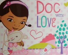 Disney Doc Mcstuffins Abrazos Panel Manta Polar Regalo Nuevo