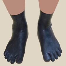 Sexy Latex Rubber Toe Socks Gummi 0.4mm Unisex Socks Unique New