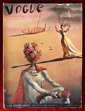 Vogue Magazine ~ June 1st, 1939 ~ Salvador Dali Surrealist House at World's Fair