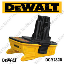 DeWALT DCA1820 20V MAX* Battery Adapter for 18V Tools NEW! W/ FACTORY WARRANTY!