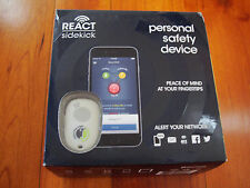 React Sidekick Personal Safety Alarm Button Phone App