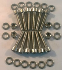 TOYOTA SUPRA MKIV 2JZ-GTE TWIN TURBO STAINLESS STEEL CAM COVER BOLTS NON VVTI