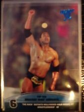 2013 Topps Best of WWE Top Ten Greatest Moments #6 The Rock Hollywood Hogan