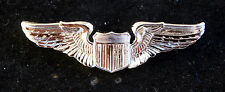 PILOT MINI BADGE WING HAT LAPEL PIN AUTHENTIC US ARMY AIR FORCE REGULATION GIFT