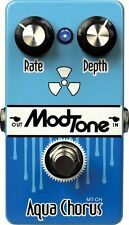 NEW MODTONE MT-CH Aqua Chorus Guitar Effects PEDAL FREE SHIPPING!