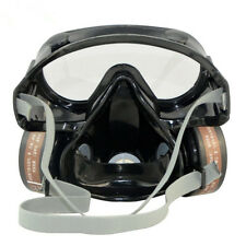 Respirator Gas Mask Safety Chemical Anti-Dust Paint Filter Eye Goggle Set HOT