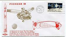 1972 Pioneer 10 Spacecraft Solar System Asteroid Belt Jupiter Moons Canaveral