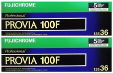 10x Fujichrome Provia 100F RDP III 135-36 FUJI Color Reversal 100 F 35mm Film