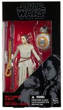 "REY & BB8 w/ Lightsaber - Star Wars Black Series 6"" The Force Awakens Figure W1"