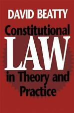Constitutional Law in Theory and Practice-ExLibrary
