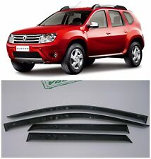 For Renault/Dacia Duster 2011-2017 Side Window Visors Rain Guard Vent Deflectors