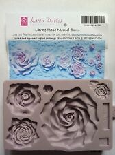 Karen Davies Large Rose Sugarcraft Mould 5 different roses   NEXT DAY DESPATCH