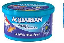 Goldfish Food 50g Flake  Aquarian Advanced Nutrition High in Vitamin C & E