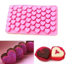 55 MINI LOVE HEARTS Silicone Mould Cake Decorating Sugarcraft Fondant Chocolate