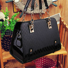 Fashion Women Celebrity Handbag Shoulder Messenger Black Bag Tote Satchel Purse