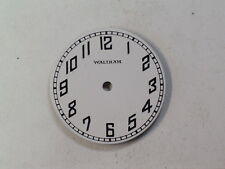 Vintage Waltham Round Military Looking Wristwatch Dial (d-24)