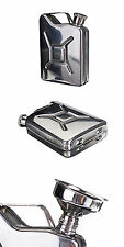 5oz Stainless Steel Jerry Can Hip Flask Liquor Whisky Pocket Bottle Funnel ES