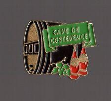 Pin's boisson / Vin - tonneau de la cave de Costevence (Cuers - Cote d'Aur)