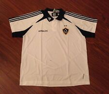 Los Angeles Galaxy Adidas Polo Golf Shirt Jersey Men's 2XL New With Tags