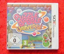 Puzzle Bobble Universe, Nintendo 3DS Spiel, Neu, deutsche Version
