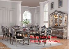 Tufted back Cushion Seat Royal Traditional Dining side Chairs 6p set Furniture