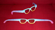 KATY PERRY PRISMATIC TOUR 2015 GLASSE LUNETTES PRISMVISION - OFFICIAL RARE