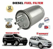 FOR SSANGYONG KYRON 2.0DT REXTON 2.9DT 2004-- ON NEW DIESEL FUEL FILTER