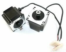 NEMA23 Single Shaft 1.3A/173oz-in Stepper Motor with Belt Pulley ( 28M065 )