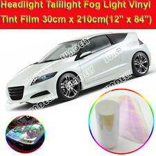 "12"" x 84"" Chameleon Clear Car Auto Headlight Taillight Fog Light Tint Vinyl Film"