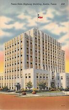 c.1940 Texas State Highway Building Austin TX post card