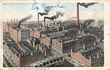 B38181 Plant of Pabst Brewing Co Milwaukee   usa