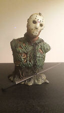 """NECA Jason Voorhees 2004 Mini 6.5"""" Bust Friday the 13th Part 7 statue"""