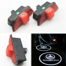2x Ghost LED Door Step Courtesy Shadow Laser Light Mercedes C-Class 08-13 W204