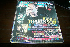 METAL HAMMER MAGAZINE 9/1998 BRUCE DICKINSON BRAINSTORM BOLT THROWER IRON MAIDEN