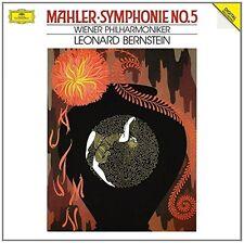 LEONARD/WP BERNSTEIN - MAHLER: SINFONIE 5 2 VINYL LP NEW+ MAHLER,GUSTAV