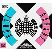 The Ministry Of Sound (2016) House X Garage (New Release) 3 CD Set