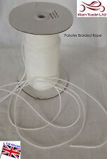 20 METRES QUALITY 2MM ROMAN BLIND CURTAIN NYLON CORD - BLIND SPARE PARTS