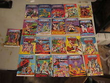 Masters of the Universe lot of 21 vintage mini comics some first issues