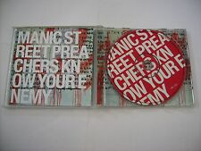 MANIC STREET PREACHERS - KNOW YOUR ENEMY - CD EXCELLENT CONDITION 2001