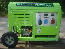 Zipper Stromerzeuger ZI-STE 8004 Stromgenerator Stromaggregat 8000W 15Ps Benzin