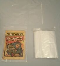 "100 Poly Zip Bags 9x12 Recloseable 2mil Zipline  9""x12"" Clear Poly Bag Ziplock"