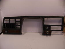 1977 CHRYSLER NEWPORT CUSTOM INSTRUMENT CLUSTER BEZEL SURROUND OEM WOOD GRAIN