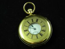 Hunt & Roskell Pocket Watch 18k Gold 1/2 Hunter Case 1860s -Sound Bell, Repeater