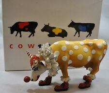 NEW IN BOX Rare Retired Cow Parade 9128 Clown Collectible