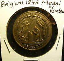 Belgium 1846 Religious Medal by Wurden