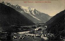 Chamonix France AK ~1910 Argentieres et le Mont Blanc Argen Photoglob ungelaufen